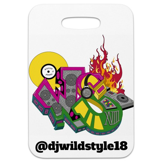 Wildstyle Luggage Tag