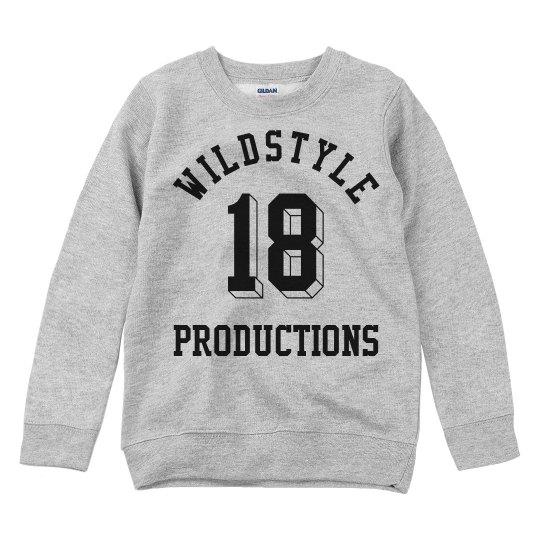 Wildstyle P Sweatshirt for Kids