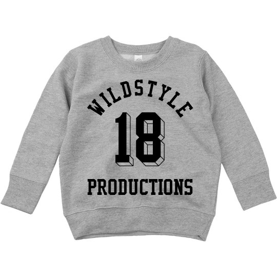 Wildstyle P Sweatshirt for Toddlers