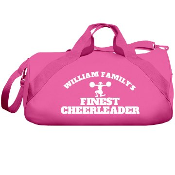 William Family Cheerleader