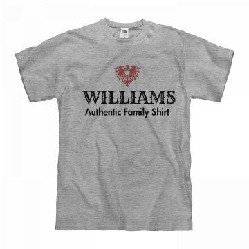 Williams authentic shirt