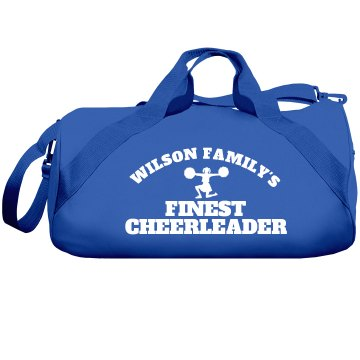 Wilson Family Cheerleader