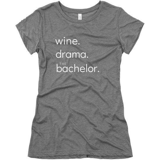 Wine, Drama, The Bachelor Fan Gift