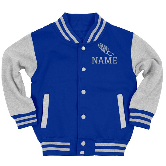 Winged Shoe Track & Field Youth Jacket