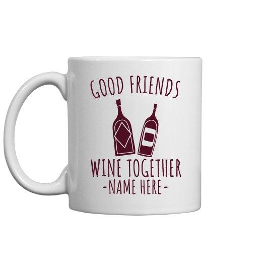 Wino-Saur Funny Wine Mug