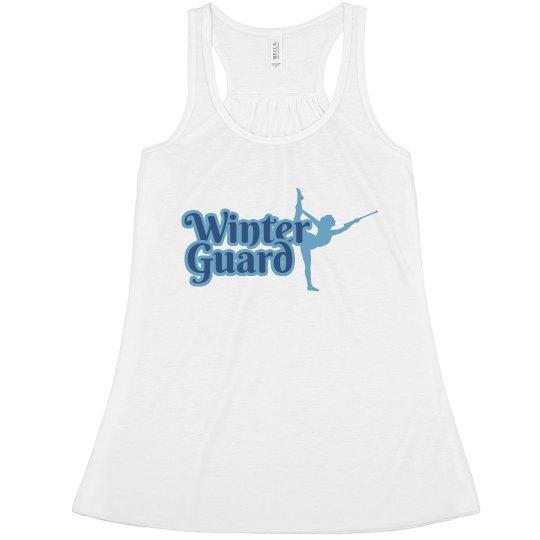 Winter Guard Blue Tee