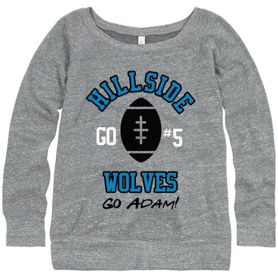 Wolves Football Mom