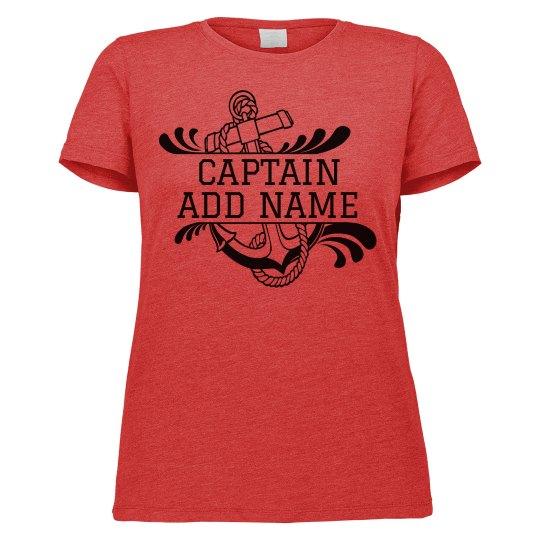 Woman's Captain Custom