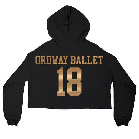 Woman's Ordway Cropped Sweatshirt
