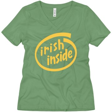 WOMAN'S ST PATRICK'S DAY SHIRT