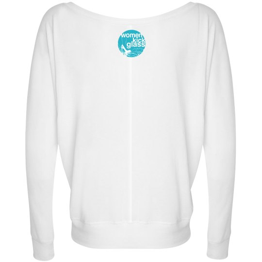 Women Kick Glass Logo Go With the Flow Top