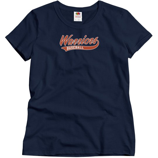 Womens - Warriors T-shirt