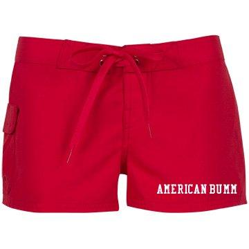 Women's American Bumm board shorts