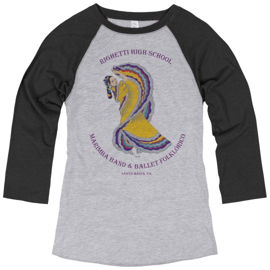 Women's Baseball Palomita top