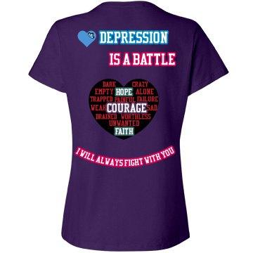 Women's Depression Tee
