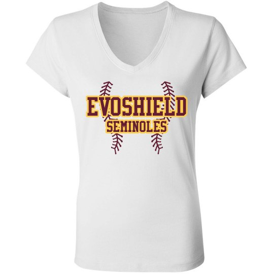 Womens Evoshield short-sleeve