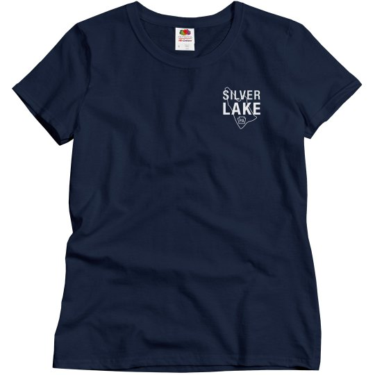 Women's fit SILVER LAKE t-shirt