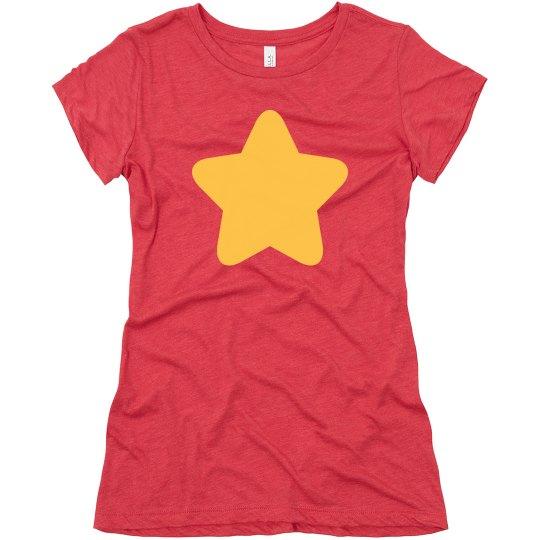 Women's Gold Star Costume Tee