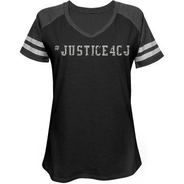 womens justice shirt