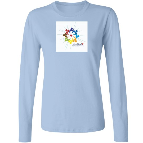 "Women's Long sleeve ""There is a Healer in Me"""