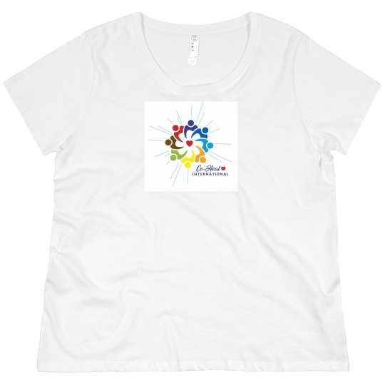 """Women's Plus short sleeve """"There is a Healer in Me"""""""