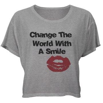 Women's Purple Change The World
