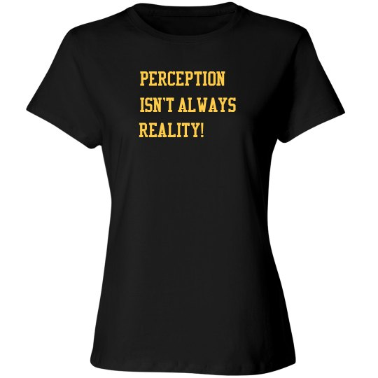 Women's Reality Shirt Black