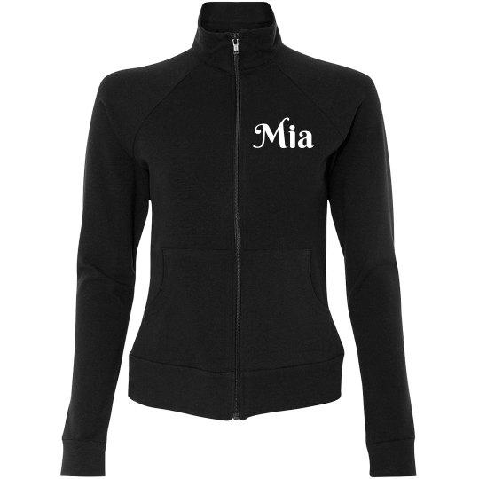 Women's warm up jacket