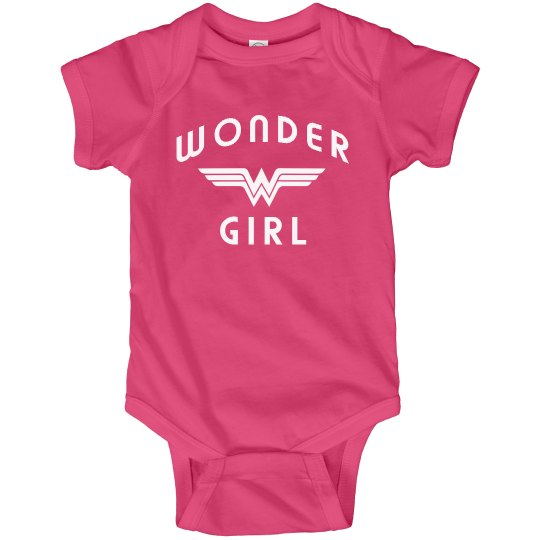 Wonder Girl Baby Bodysuit
