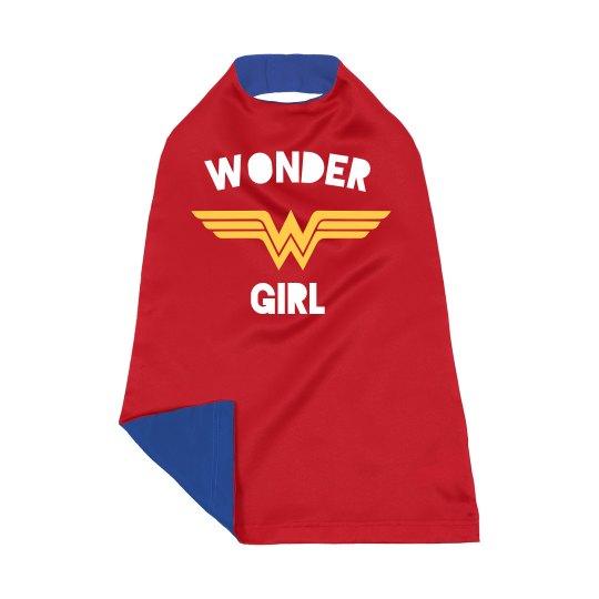 Wonder Girl Kids Cape