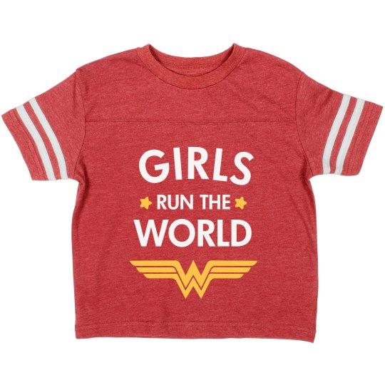 Wonder Girls Run the World Toddler Tee