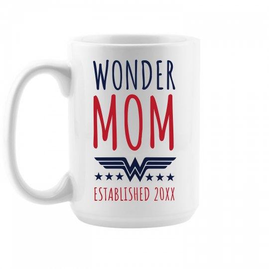 Wonder Mom Custom Mother's Day Gift