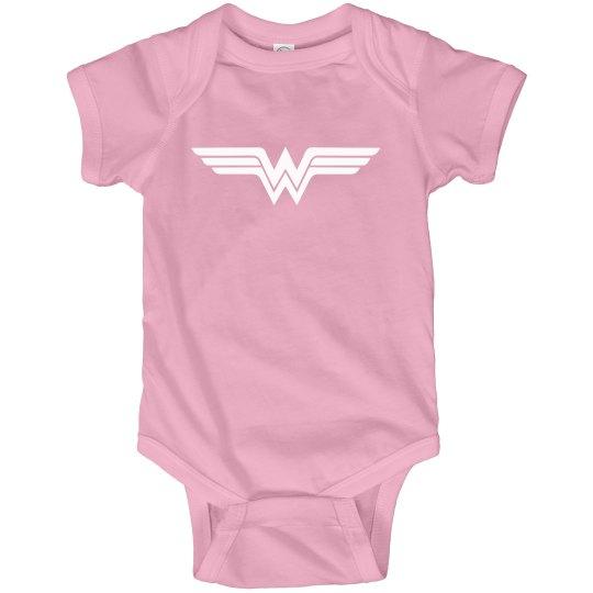 Wonder Tot Pink Bodysuit