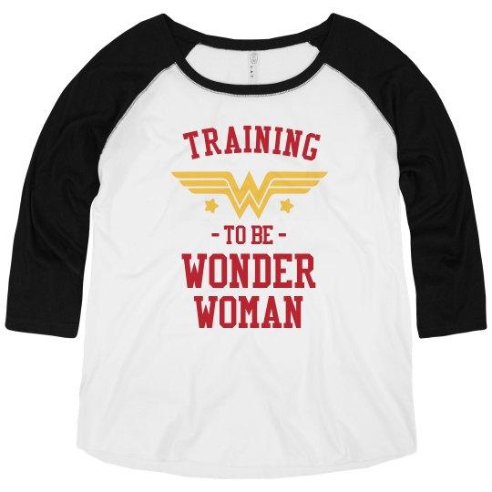 Wonder Woman In Training Plus Size