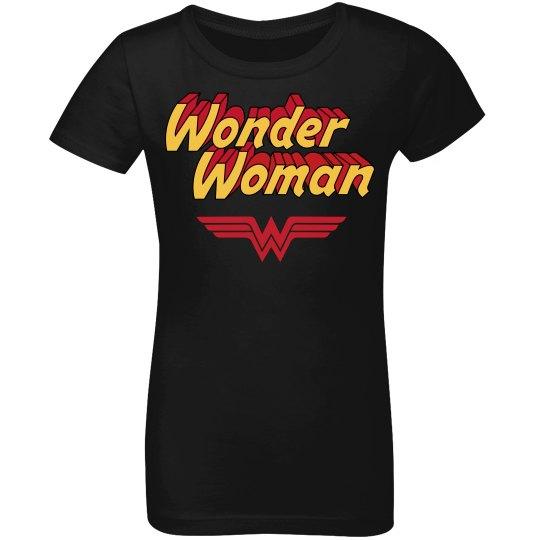 Wonder Woman Spoof Youth Tee