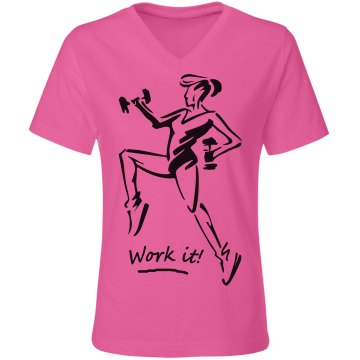 Work it - Ladies Relaxed Fit Tee