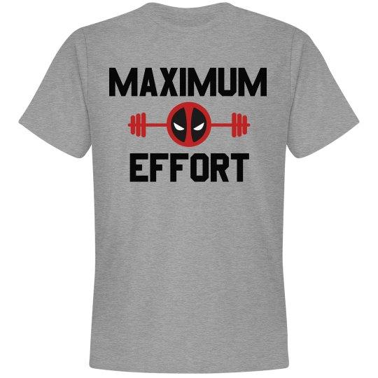Workout Maximum Effort