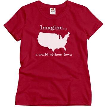 World without Iowa