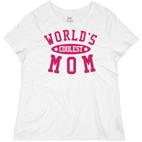 World's Coolest Mom Plus Tee