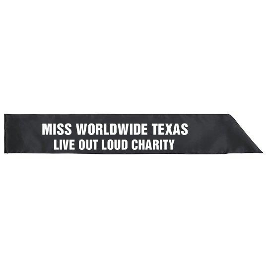 Worldwide sash