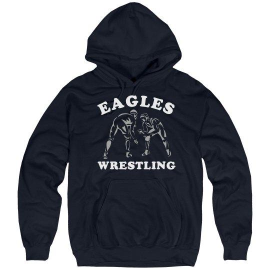 Wrestling Hoodie w/ Back