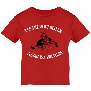 Wrestling sister
