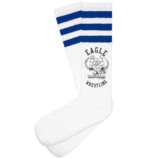 Wrestling socks