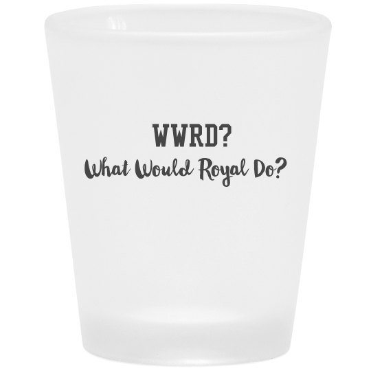 WWRD shot glass