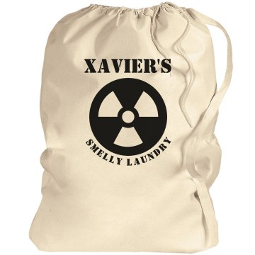 XAVIER. Laundry bag