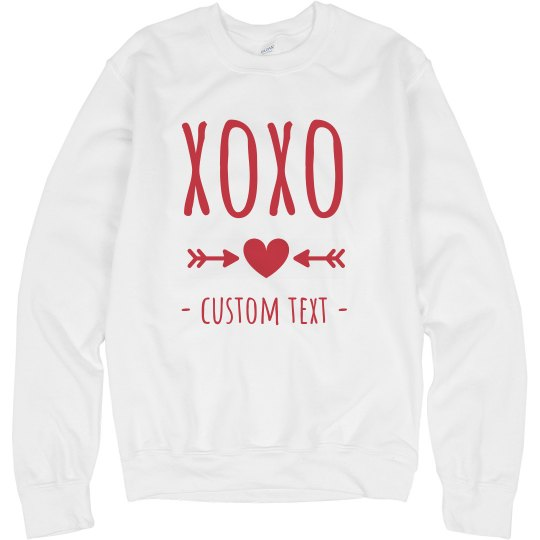XOXO Cute & Comfy Valentine's Sweater