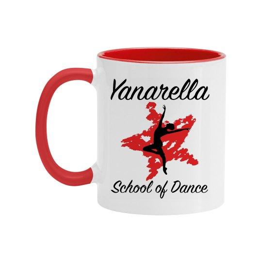 Yanarella Dance Dad Ceramic Mug