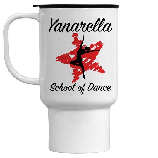 Yanarella Dance Dad Travel Mug