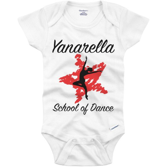 Yanarella Future Dancer Onesie