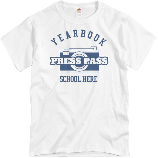 Yearbook Press Pass